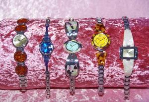Acetat Uhr, Beinhardt Design, Modeschmuck Armbanduhr
